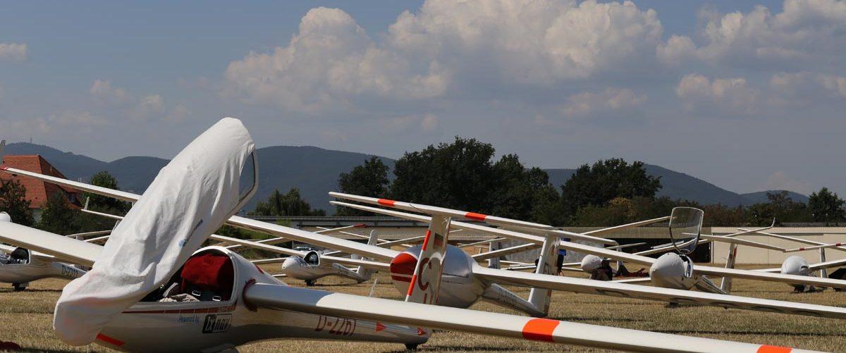 Segelflug Qualifikationsmeisterschaften 2021 in Lachen-Speyerdorf